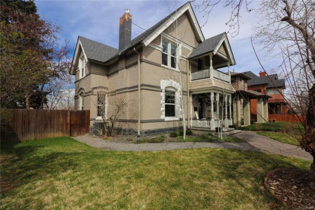 321 S Emerson Street, Denver, CO 80209 (#5605383) :: Wisdom Real Estate