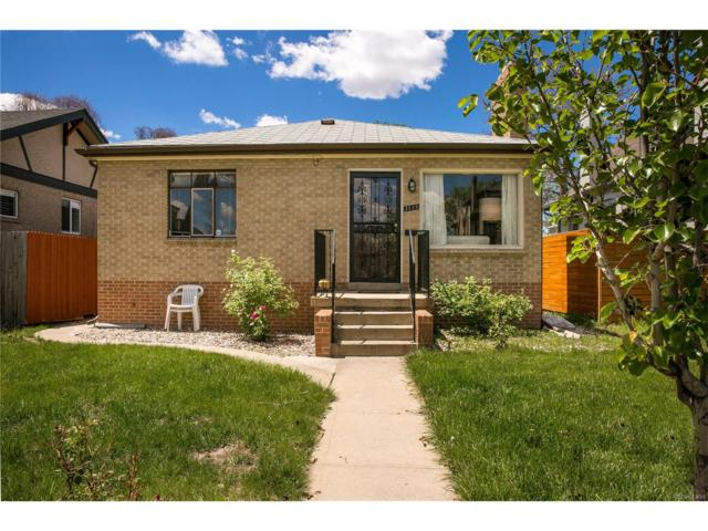 3815 Tejon Street, Denver, CO 80211 (MLS #5605813) :: 8z Real Estate
