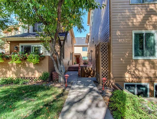 133 S Jackson Street A-7, Denver, CO 80209 (#5606763) :: The Peak Properties Group