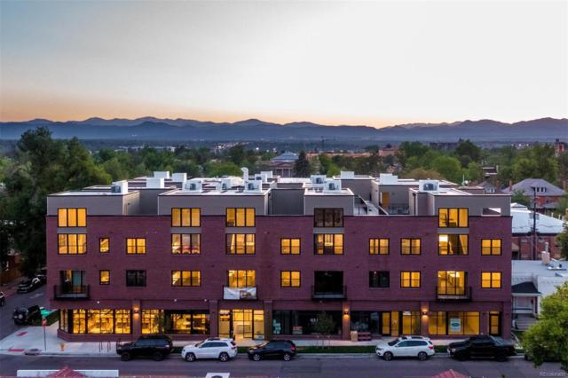 431 E Bayaud Avenue #203, Denver, CO 80209 (#5607865) :: The Peak Properties Group