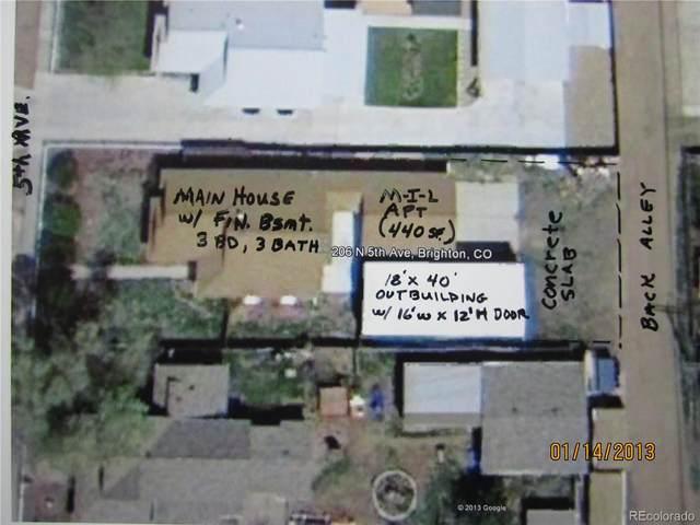 206 N 5th Avenue, Brighton, CO 80601 (#5608311) :: HergGroup Denver