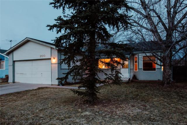 200 S Olive Avenue, Milliken, CO 80543 (#5610893) :: The Heyl Group at Keller Williams