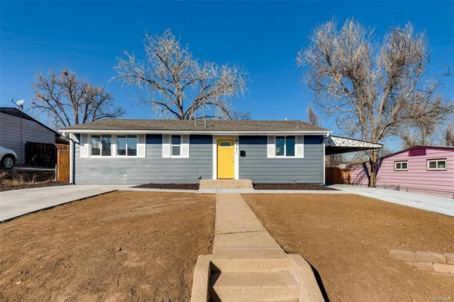 721 Campo Street, Denver, CO 80221 (#5611711) :: Real Estate Professionals