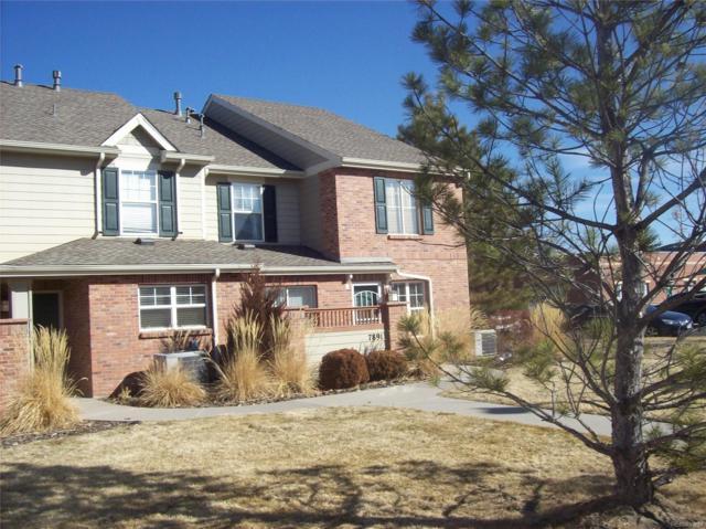 7891 E Cedar Avenue, Denver, CO 80230 (#5612113) :: Hometrackr Denver