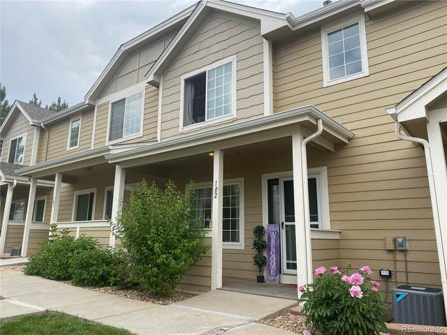 19247 E Gunnison Place #102, Aurora, CO 80017 (MLS #5612501) :: Bliss Realty Group