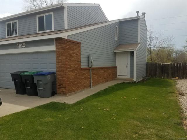 1813 Antero Drive, Longmont, CO 80504 (#5613914) :: The Heyl Group at Keller Williams