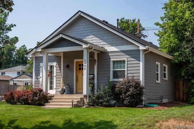 1809 S Williams Street, Denver, CO 80210 (#5618913) :: The HomeSmiths Team - Keller Williams