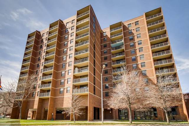 1301 Speer Boulevard #810, Denver, CO 80204 (#5619924) :: Kimberly Austin Properties