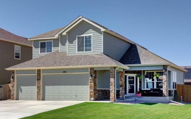 350 Celtic Road, Johnstown, CO 80534 (MLS #5620970) :: 8z Real Estate