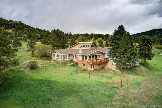 22256 Meadow View Road, Morrison, CO 80465 (MLS #5621342) :: 8z Real Estate