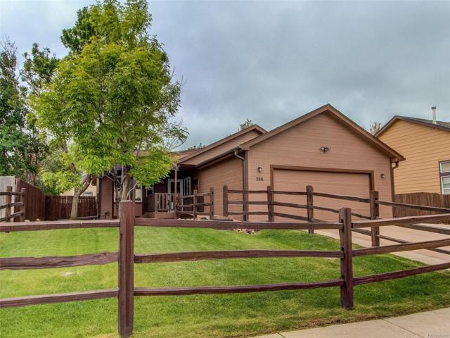 206 Rushmore Street, Elizabeth, CO 80107 (#5621594) :: The HomeSmiths Team - Keller Williams