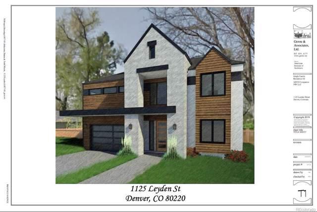 1125 Leyden Street, Denver, CO 80220 (MLS #5622175) :: Bliss Realty Group