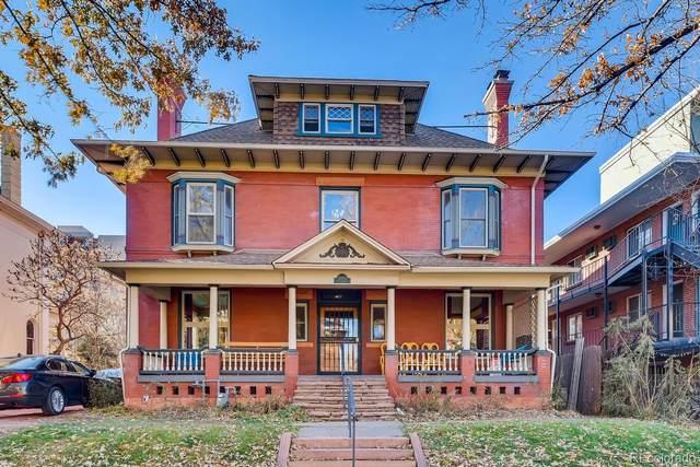 1445 N High Street, Denver, CO 80218 (#5623326) :: HomeSmart