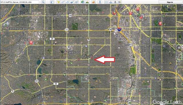 971 S Wolff Street, Denver, CO 80219 (MLS #5623449) :: 8z Real Estate