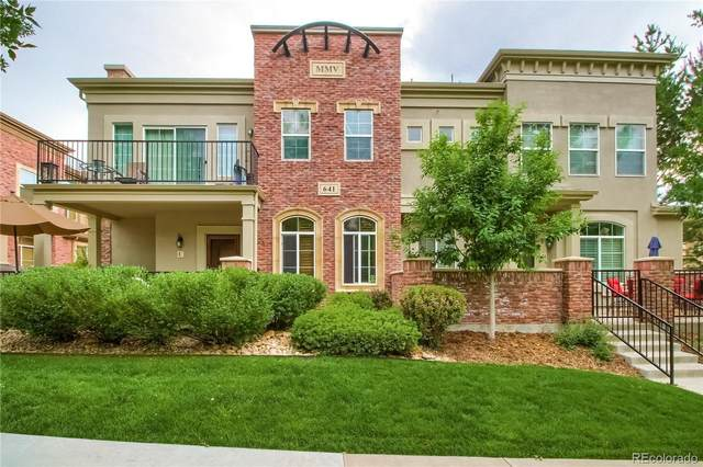 641 W Burgundy Street A, Highlands Ranch, CO 80129 (#5625118) :: My Home Team