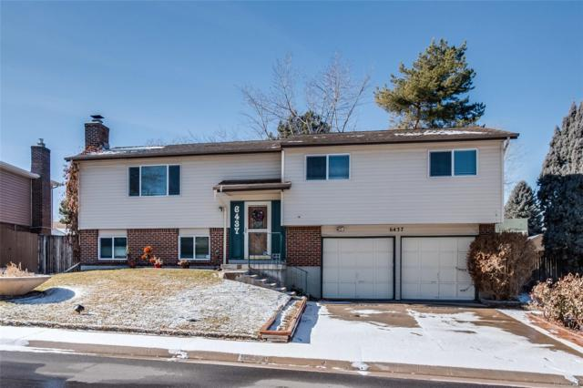 6437 S Garrison Court, Littleton, CO 80123 (#5626926) :: House Hunters Colorado