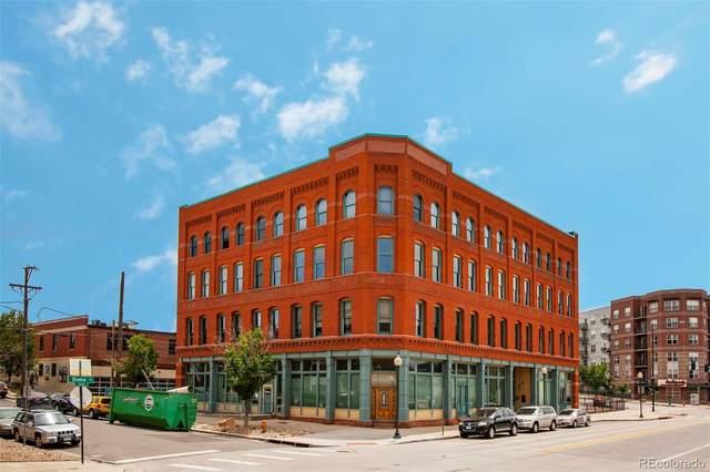 2560 Blake Street #205, Denver, CO 80205 (MLS #5627931) :: 8z Real Estate