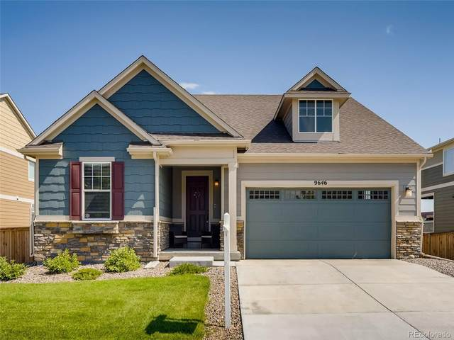 9646 Keystone Trail, Parker, CO 80134 (MLS #5630091) :: Bliss Realty Group