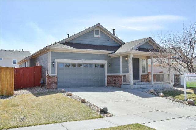 16208 E 105th Way, Commerce City, CO 80022 (#5636980) :: The Pete Cook Home Group