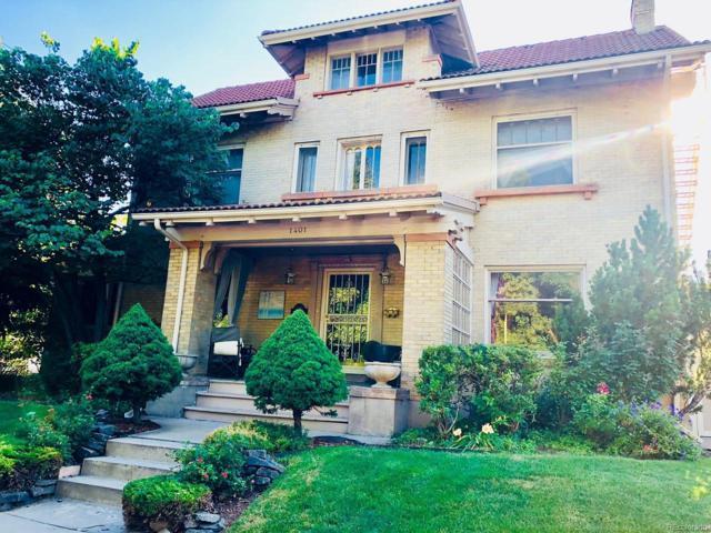 1401 Madison Street, Denver, CO 80206 (#5637187) :: House Hunters Colorado