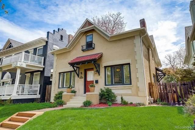 1230 N Pennsylvania Street, Denver, CO 80203 (#5637270) :: The Gilbert Group