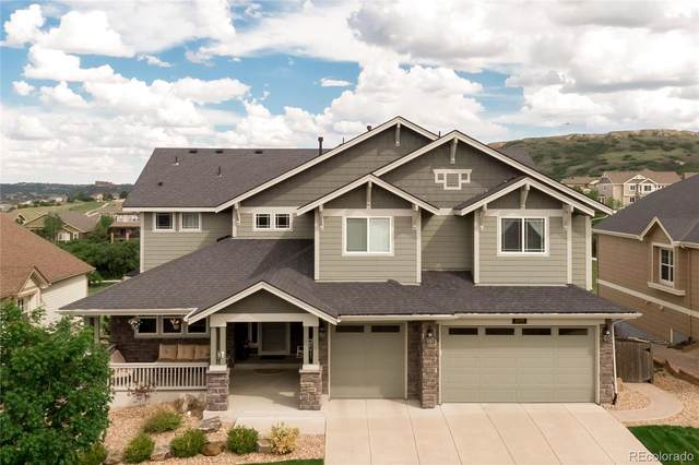 2799 Red Hawk Ridge Drive, Castle Rock, CO 80109 (#5638656) :: Briggs American Properties