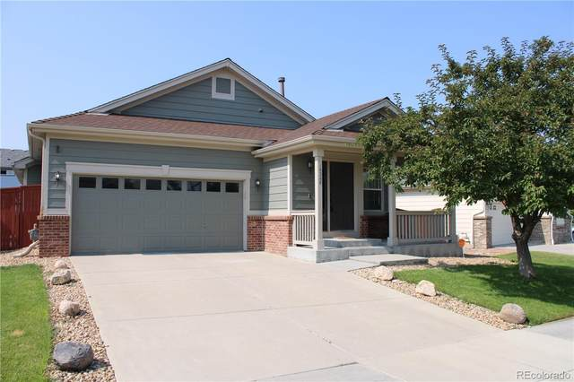 16208 E 105th Way, Commerce City, CO 80022 (#5639547) :: The Gilbert Group