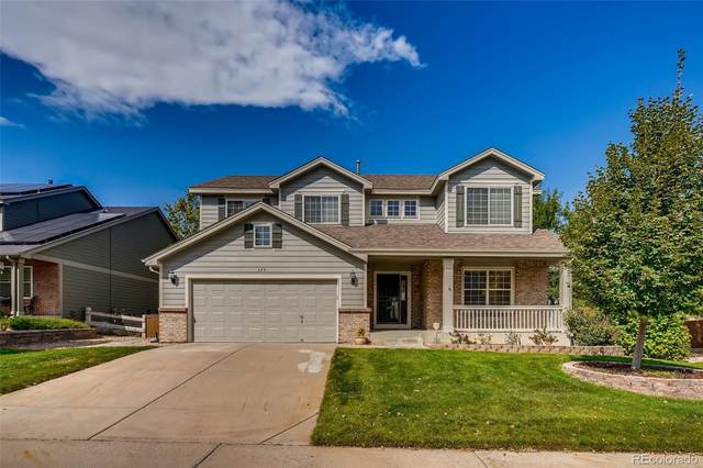 323 Rose Finch Circle, Highlands Ranch, CO 80129 (#5643345) :: The DeGrood Team