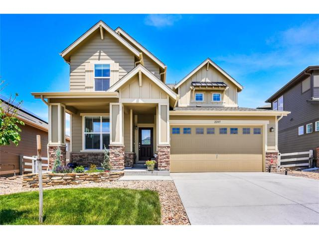 2245 Prospect Lane, Broomfield, CO 80023 (#5644401) :: Ford and Associates