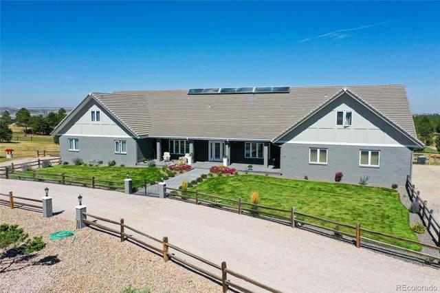 8447 Burning Tree Drive, Franktown, CO 80116 (MLS #5644451) :: 8z Real Estate