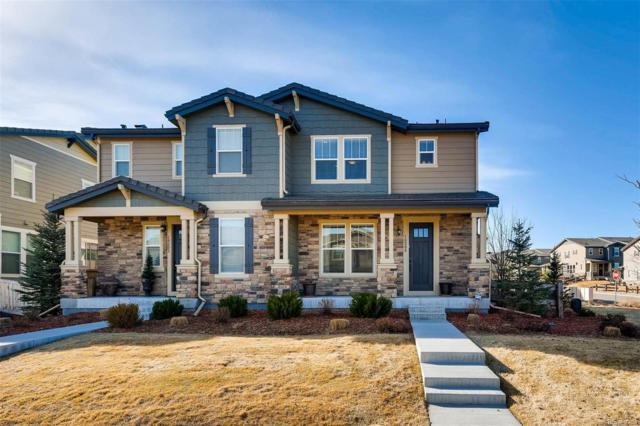 10200 Tall Oaks Circle, Parker, CO 80134 (#5645139) :: The Peak Properties Group