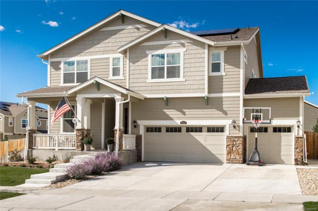 15065 Yellowthroat Street, Parker, CO 80134 (#5645195) :: The HomeSmiths Team - Keller Williams