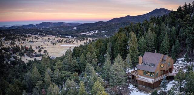 6574 Olympus Drive, Evergreen, CO 80439 (MLS #5647976) :: 8z Real Estate