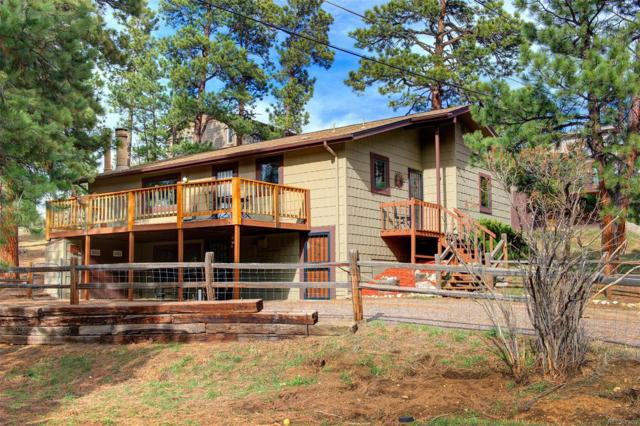 30073 Hilltop Drive, Evergreen, CO 80439 (#5650385) :: The City and Mountains Group