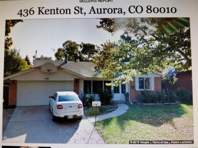 436 Kenton Street, Aurora, CO 80010 (#5651824) :: The Peak Properties Group