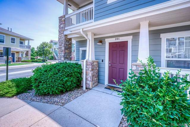9350 Amison Circle #201, Parker, CO 80134 (MLS #5653150) :: Bliss Realty Group