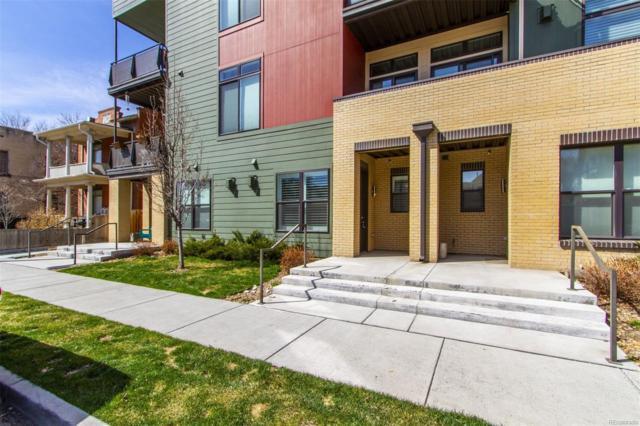 336 E 1st Avenue #102, Denver, CO 80203 (#5655127) :: The Dixon Group