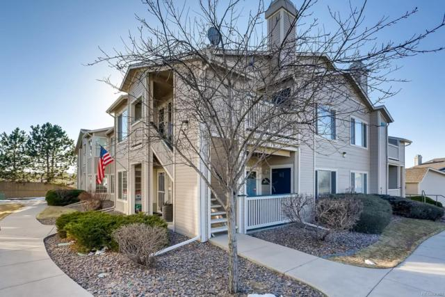 8435 Pebble Creek Way #101, Highlands Ranch, CO 80126 (#5662345) :: The HomeSmiths Team - Keller Williams