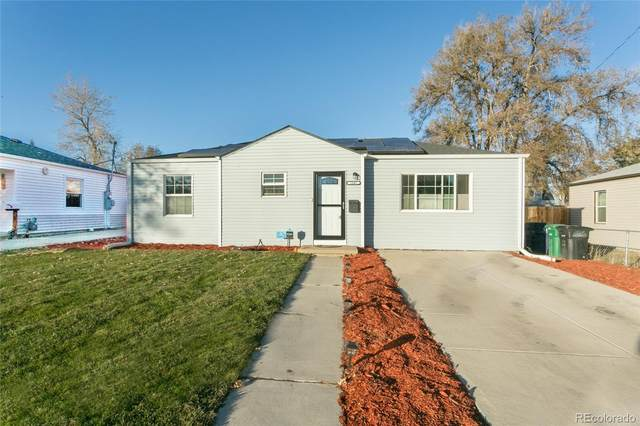 1845 W Stoll Place, Denver, CO 80221 (#5662500) :: The HomeSmiths Team - Keller Williams