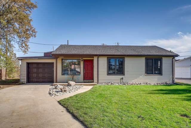 4460 Harlan Court, Wheat Ridge, CO 80033 (MLS #5664332) :: Kittle Real Estate