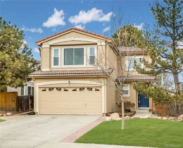 9905 Melbourne Circle, Highlands Ranch, CO 80130 (#5665305) :: The DeGrood Team