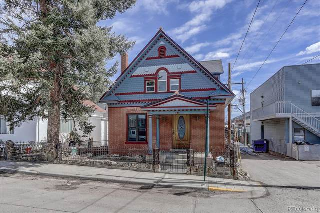 225 14th Avenue, Idaho Springs, CO 80452 (MLS #5678446) :: 8z Real Estate