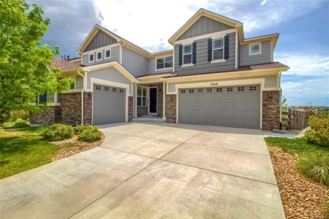 7569 S Gold Bug Court, Aurora, CO 80016 (#5679563) :: The Peak Properties Group