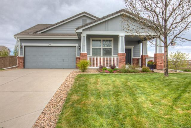 301 Ardmore Street, Castle Rock, CO 80104 (#5680090) :: My Home Team