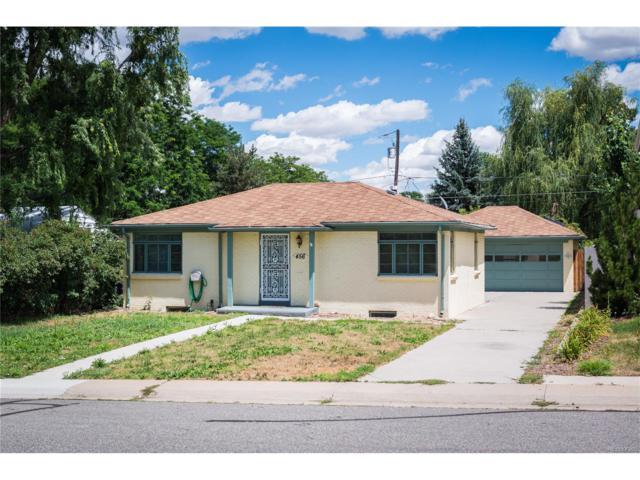 456 S Leyden Street, Denver, CO 80224 (MLS #5681205) :: 8z Real Estate