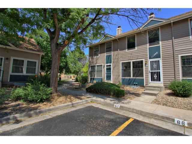 11566 Community Center Drive #64, Northglenn, CO 80233 (MLS #5684808) :: 8z Real Estate