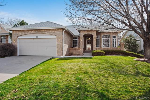 77 Canongate Lane, Highlands Ranch, CO 80130 (#5685994) :: The DeGrood Team