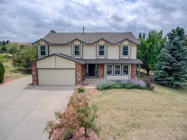 850 Wuthering Heights Drive, Colorado Springs, CO 80921 (#5696217) :: House Hunters Colorado