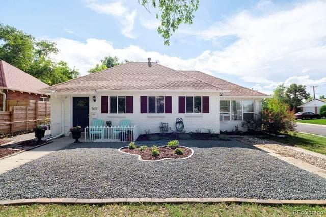 503 S Bryant Street, Denver, CO 80219 (MLS #5696815) :: 8z Real Estate
