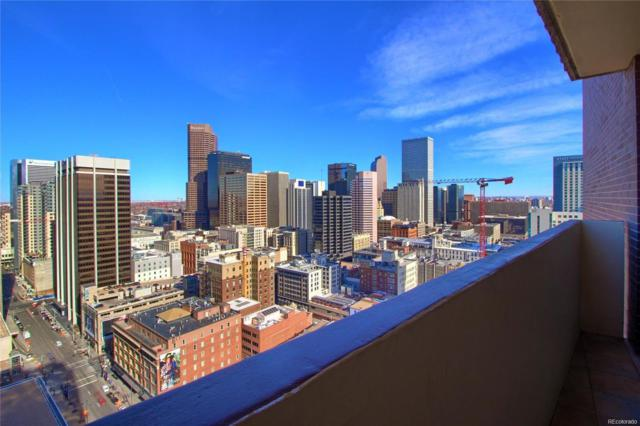 1020 15th Street 37J, Denver, CO 80202 (#5697217) :: The Griffith Home Team